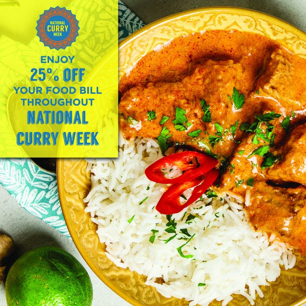National Curry Week 2019