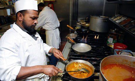 Uk Chef Shortage Indian Food