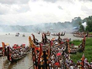 Onam festival boat race