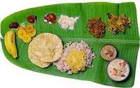 Onam festival feast