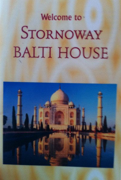 stornoway balti review